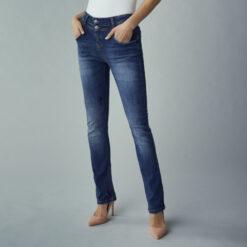 Fransa ZOMAL 2 Jeans Metro Blue Denim