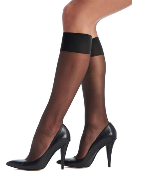 Oroblu Sheer Knee-highs 20 DEN Black