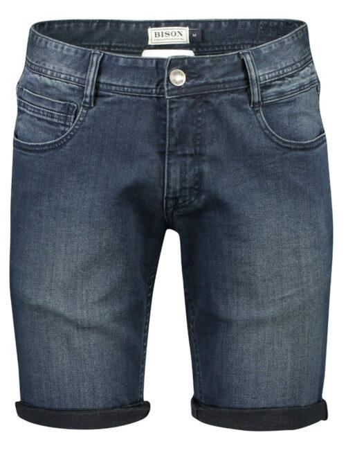 Bison Denim Superflex Shorts 80-53018 Blue Skin
