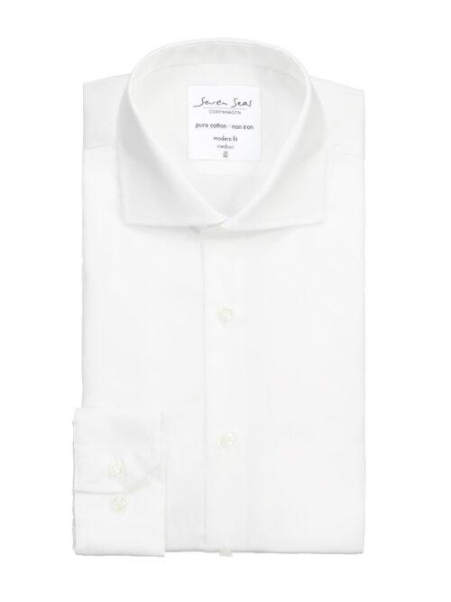 Seven Seas Skjorte SS8 Hvid