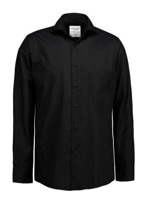Seven Seas Skjorte SS8 Sort