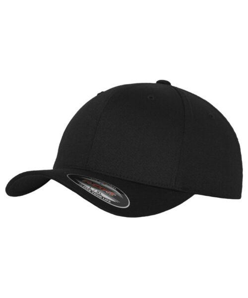 Flexfit Original Baseball Cap 6277-BLK-BLK