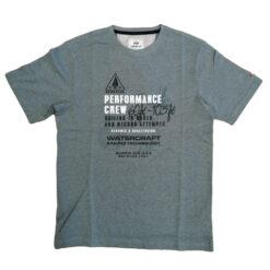Bison T-shirt 80-40271 Green Melange