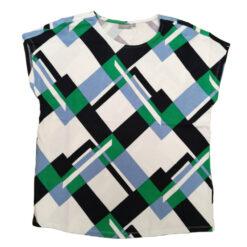 Fransa CIROUND 1 T-shirt Jolly Green