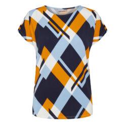 Fransa CIROUND 1 T-shirt Maritime Blue