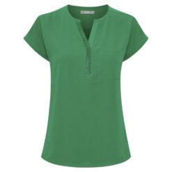 Fransa ZAWOV 2 Bluse Jolly Green