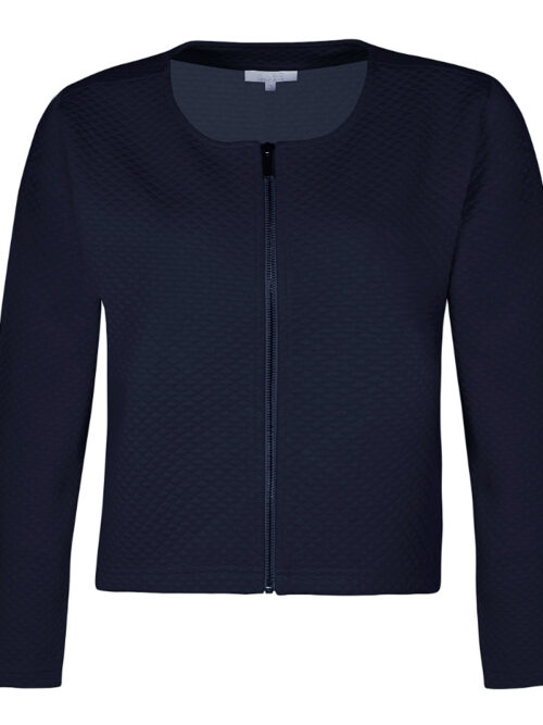ZE-ZE Nordic Cardigan JEWEL 313 Navy