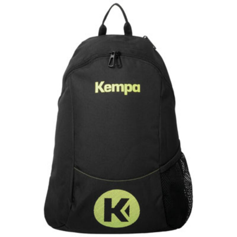 Kempa CAUTION BACKPACK black-fluo-yelow
