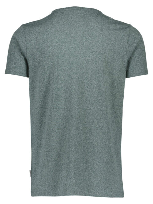 Lindbergh White T-shirt 30-48044 Pine Green Mix