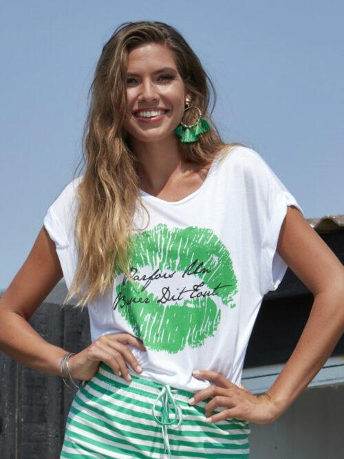 ZE-ZE Nordic TASHA 430 T-shirt Hvid