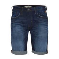 Blend Denim Shorts 20707477 Dark Blue