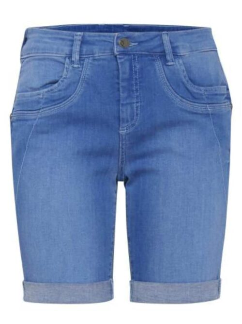 Fransa FRDOLIME 1 Shorts Sky Blue Denim
