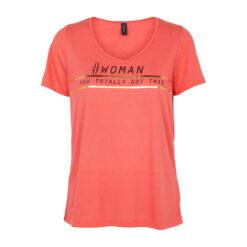 Intown T-shirt 192-498 Koral