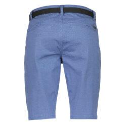Lindbergh White Chino Shorts 30-52003 DK Blue