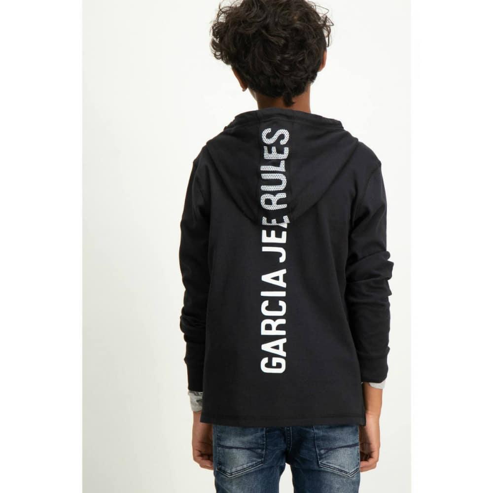 Garcia Boys Hoodie U83469 Black