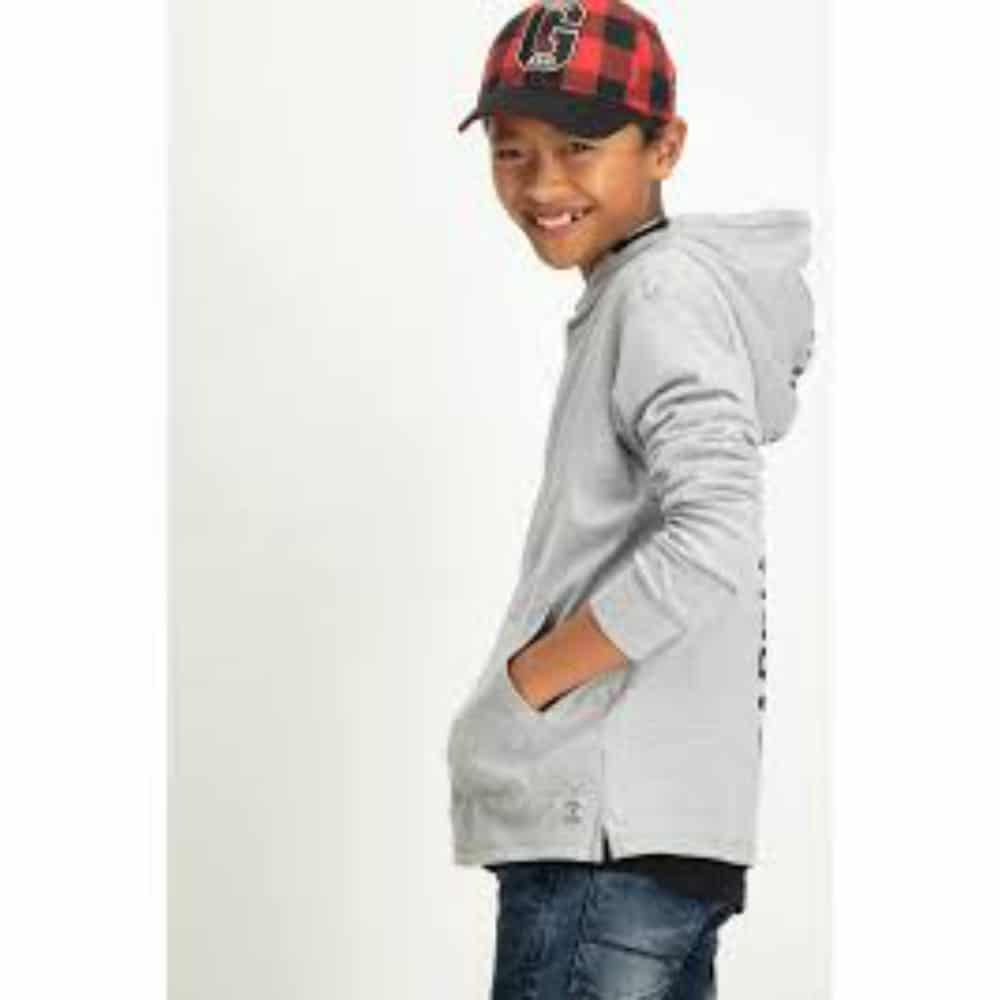 Garcia Boys Hoodie U83469 Grey