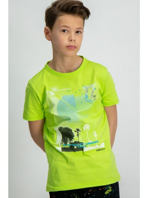 Garcia Boys T-shirt E93400 Grass green