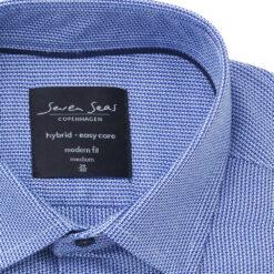 Seven Seas Skjorte S19304 CRUISE Blue