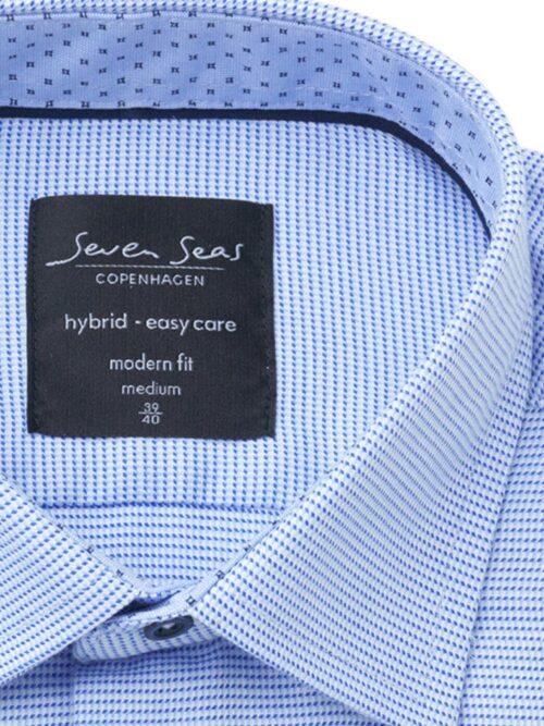 Seven Seas Skjorte S19307 SAMUI Blue