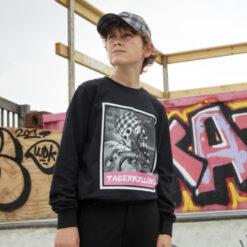 D-XEL Ternet Ninja Sweatshirt 1406027 Black