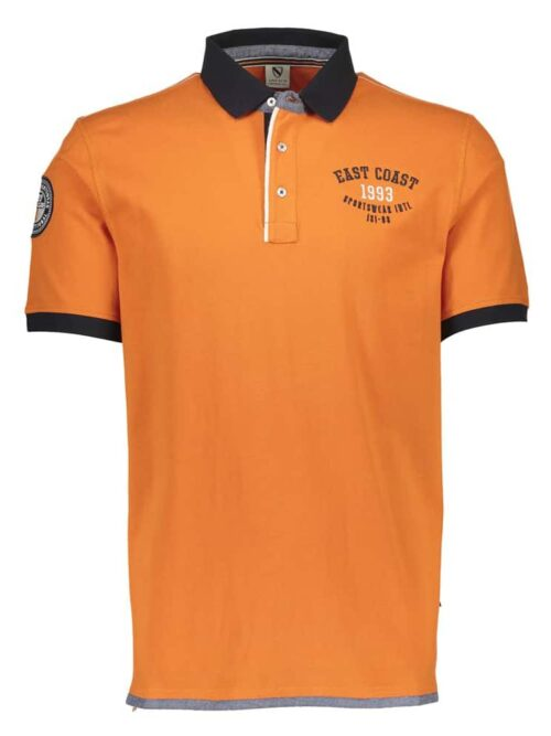 Jacks Polo 3-49303 Orange