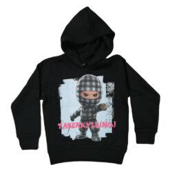 Kids Up Ternet Ninja Hoodie 1706013 Black