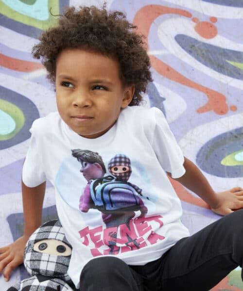 Kids Up Ternet Ninja T-shirt 1706011 White