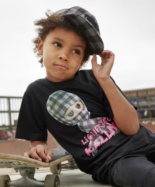 Kids Up Ternet Ninja T-shirt 1706014 Black