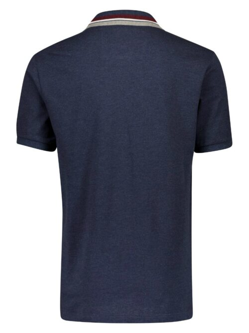 Bison Stretch Polo Indigo Mel