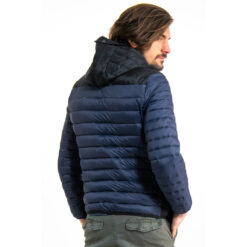 Garcia Puffer Jacket Dark Moon