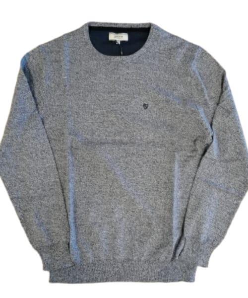 Jacks Yarn Twist Pullover Blue Mix