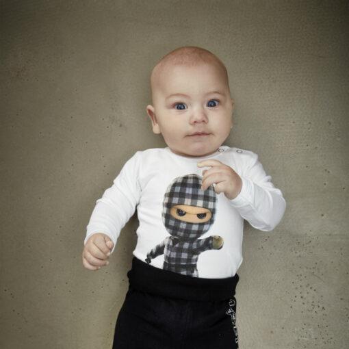 Kids Up Baby Ternet Ninja Bodystocking White