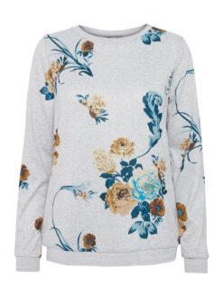 Fransa FISOFT 1 Sweatshirt Grey w. Cathay