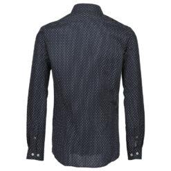 Lindbergh Black Technical Shirt Dark Blue