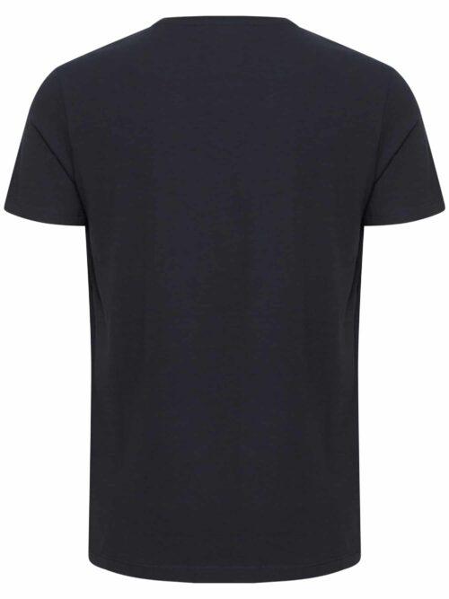 Casual Friday Lincoln v-neck T-shirt Night Navy Ryg
