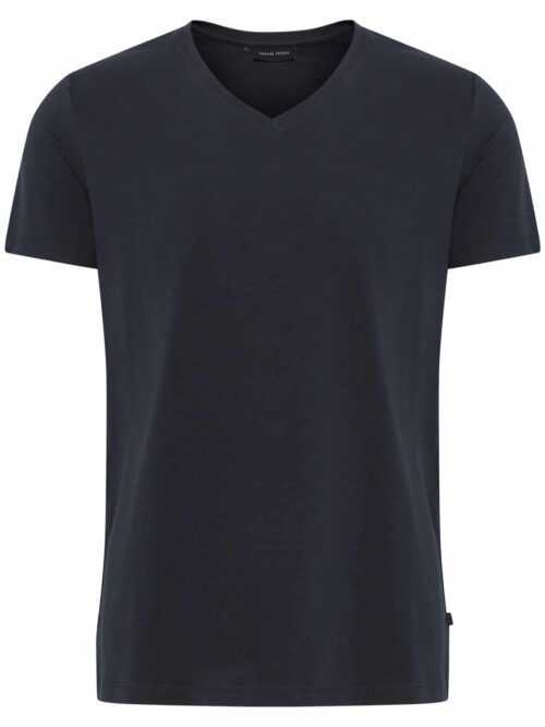 Casual Friday Lincoln v-neck T-shirt Night Navy