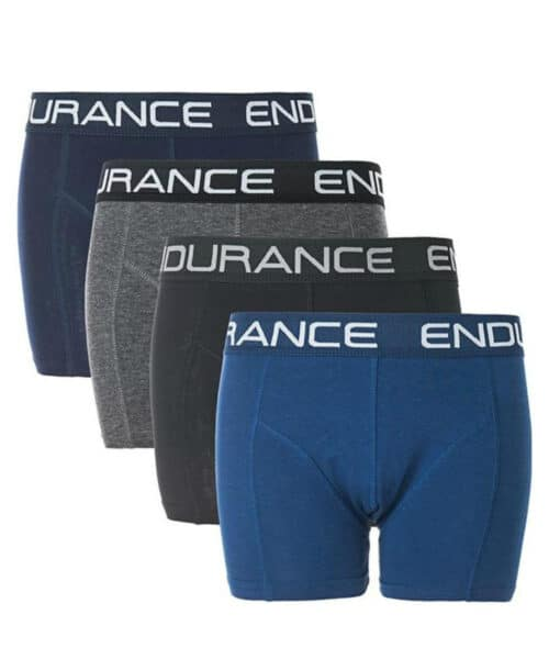 Endurance Burke Junior Boxershorts - 4-pack