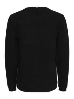 Fransa FINE 1 Pullover Black