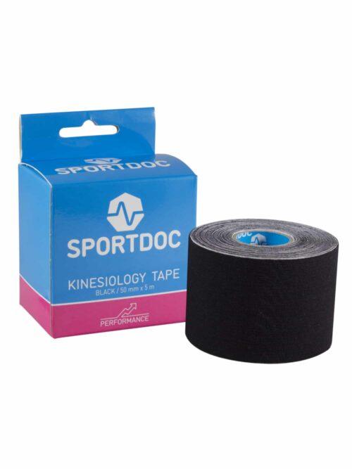 Sportdoc Kinesiologitape Sort 5 cm