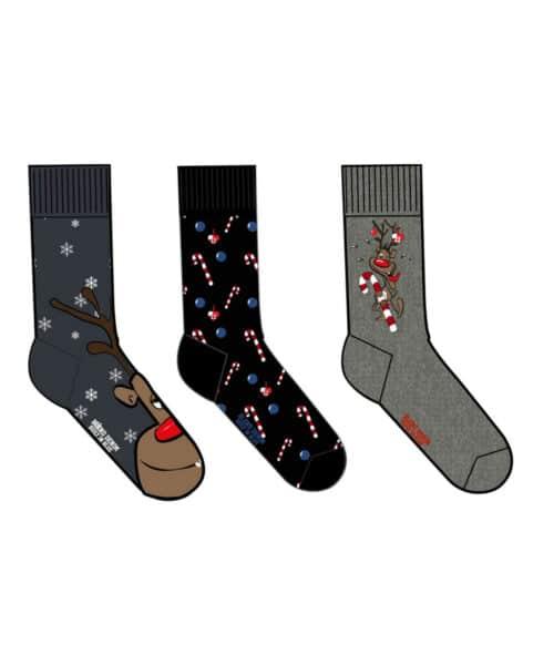 Blend Christmas Socks 3-pack