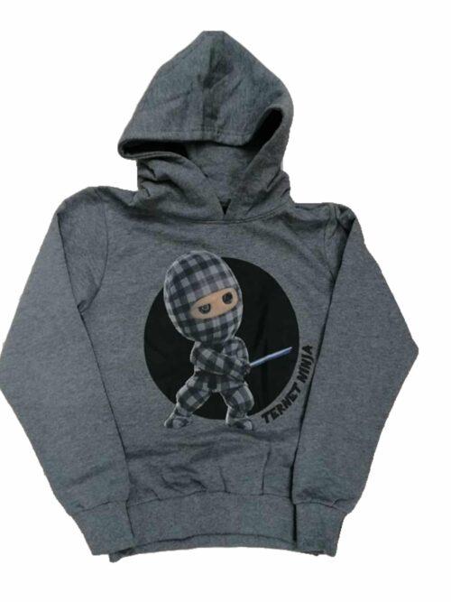 D-XEL Ternet Ninja Hoodie Grå