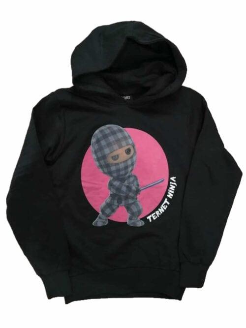 D-XEL Ternet Ninja Hoodie Sort