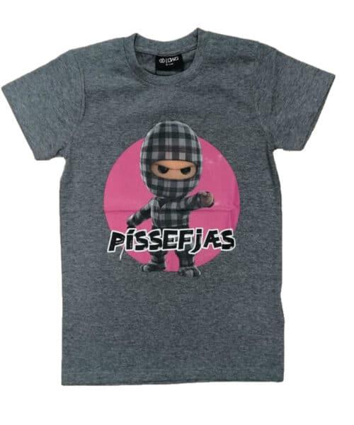 D-XEL Ternet Ninja T-shirt Pissefjæs Grå