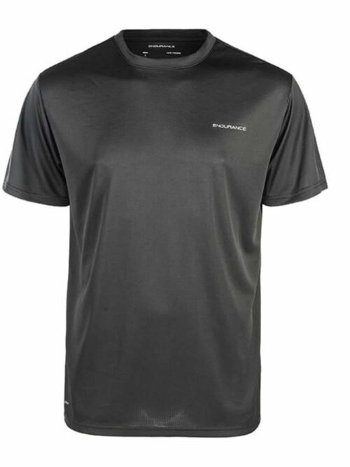Endurance Vernon Performance Tee Black