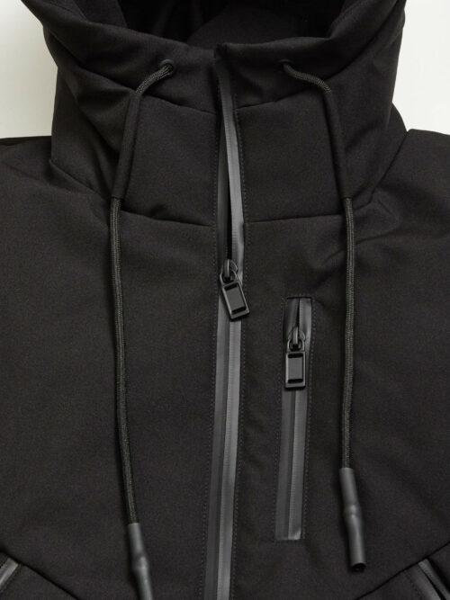 Gabba Mason Jacket Short Black