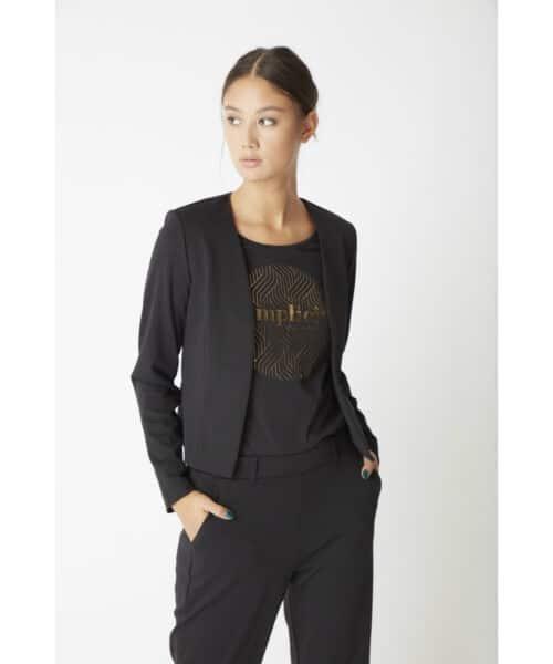 ICHI IXCAROLA SS T-shirt Black