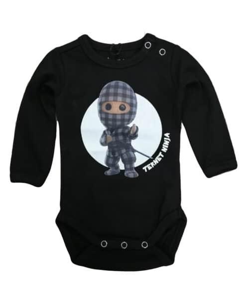 Kids Up Baby Ternet Ninja Bodystocking Black