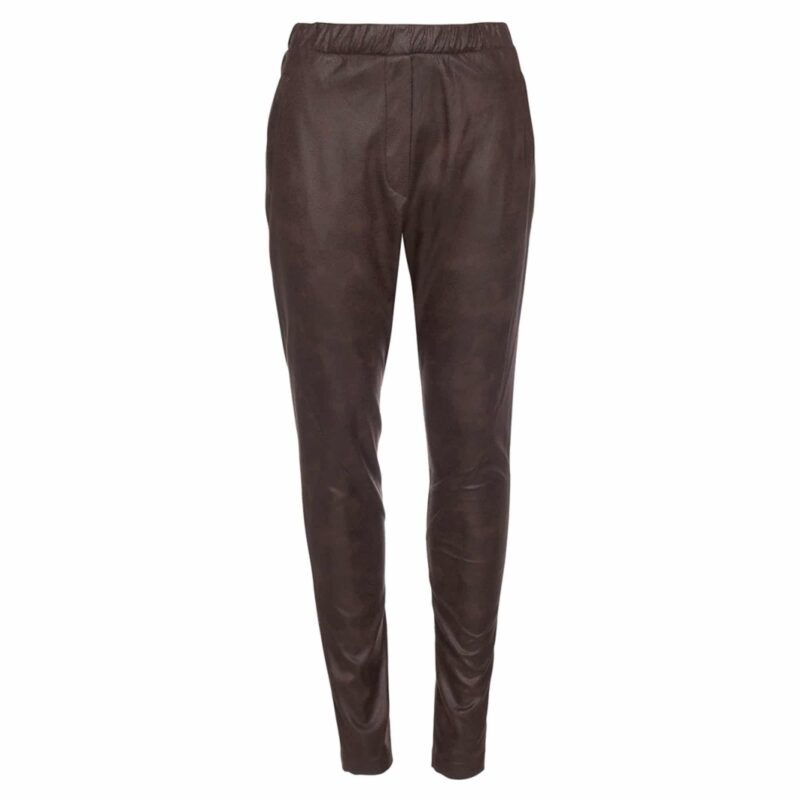 One Two Luxzuz Bellis Pant Choko Lux
