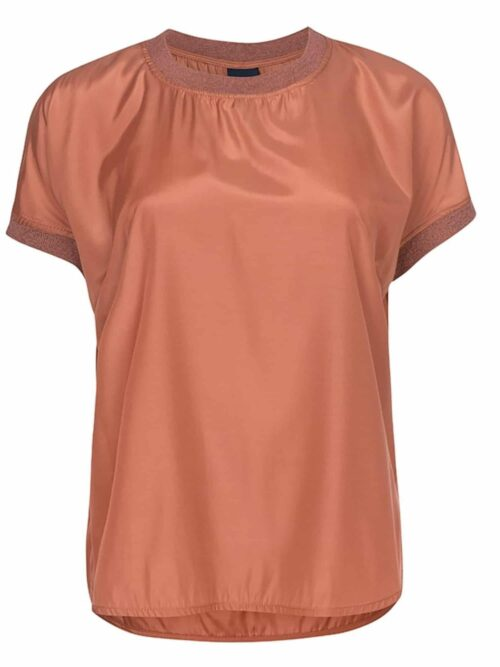 One Two Luxzuz Nessie Blouse Bright Copper