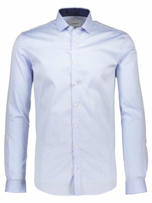 Lindbergh White Skjorte 30-21190 Light Blue
